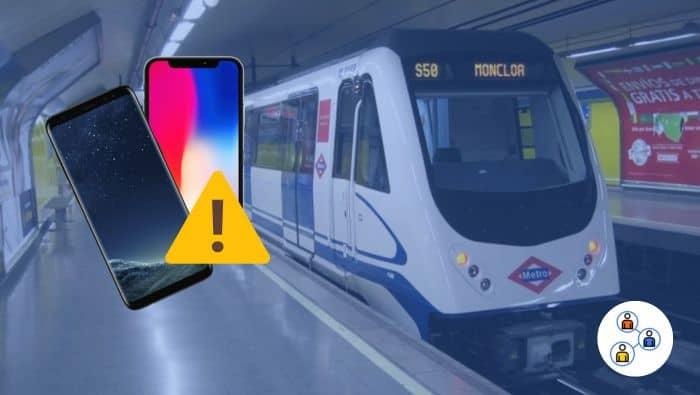 Como no robarte móvil en el metro