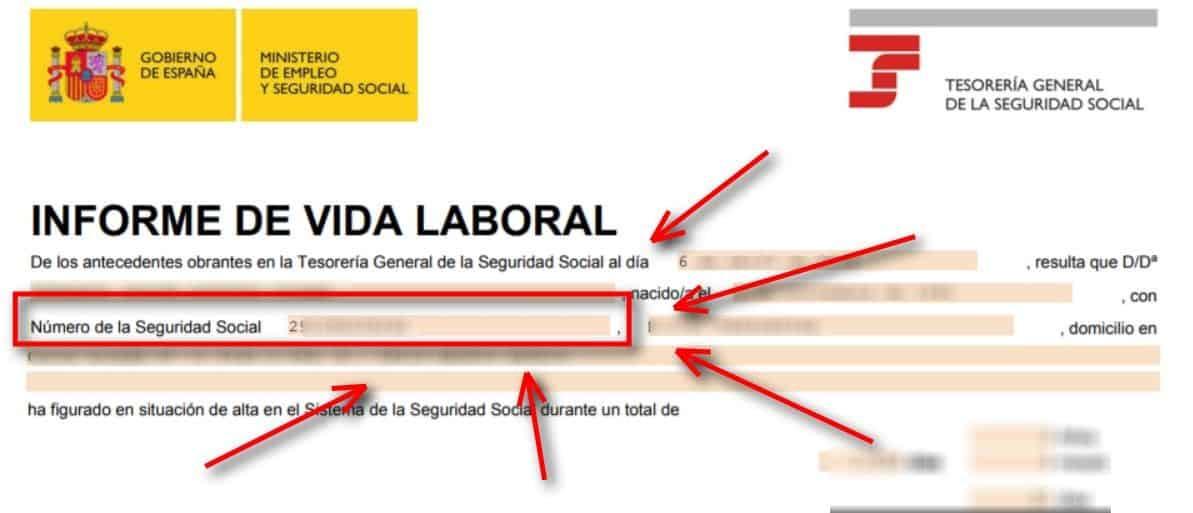 C mo saber mi n mero de la seguridad social ayuda for Oficinas de la seguridad social en valencia