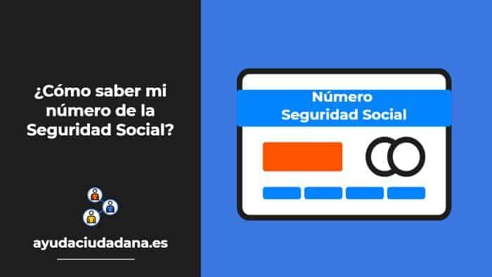 ¿Cómo saber mi número de la Seguridad Social? 4