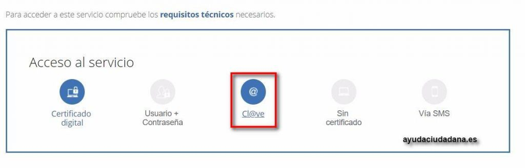acceso clave certificado de pagos seguridad social