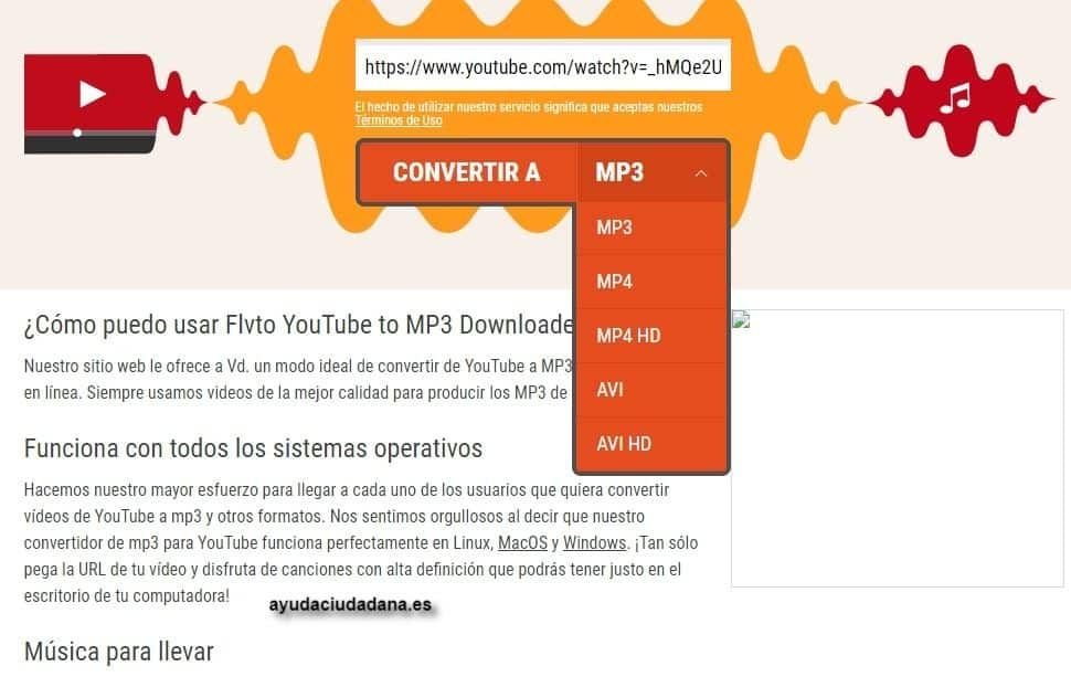 DLVTO descargar vídeos youtube gratis online