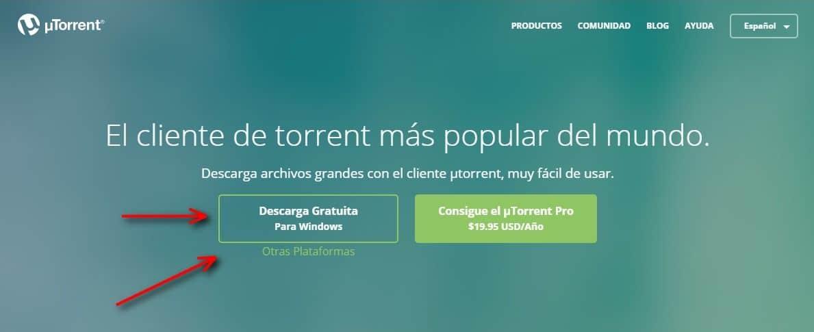 Descargar utorrent