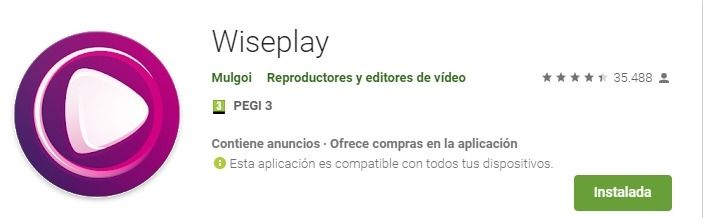 Wiseplay Android descargar