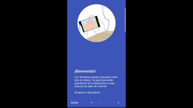 Wiseplay bienvenida app
