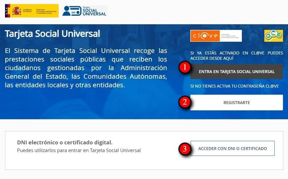 TSU Tarjeta social universal