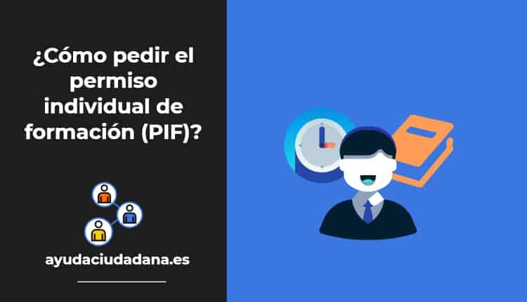 permiso individual de formación PIF