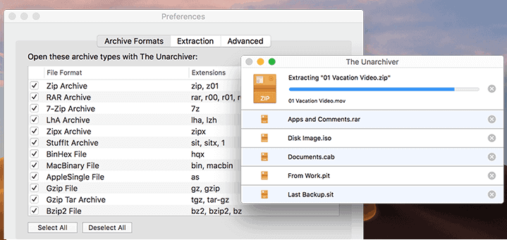 Abrir ficheros Zip